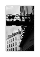 Paris (Punkrocker*) Tags: contax aria cy zeiss distagon 28mm 2828 film kodak trix 400 nb bwfp monochrom bnw street city people paris montmartre france