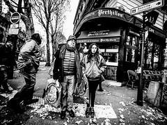 HippyMarket.jpg (Klaus Ressmann) Tags: omd em1 fparis france klausressmann peoplestreet winter blackandwhite candid flcpeop shopping streetphotography unposed omdem1