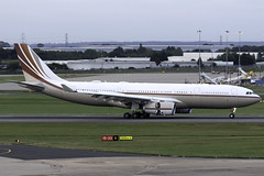 Jet Aviation A330-200 Prestige VP-BHD at Birmingham Airport BHX/EGBB (dan89876) Tags: jet aviation private airbus a330 a330200 a332 a330243 prestige vpbhd birmingham international airport landing runway 15 bhx egbb