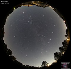 Perseid Meteor - August 11, 2019 (The Dark Side Observatory) Tags: tomwildoner night sky space outerspace astronomy astronomer science canon canon6d weatherly pennsylvania observatory darksideobservatory stars star tdsobservatory earthskyscience perseid meteor meteorshower perseidmeteorshower tripod lensbaby fisheye timelapse backyardeos