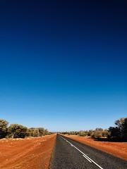infinity (ISO 69) Tags: australia redcenter northernterritory desert road street lonel lonely long strasse wüste australien outback downunder flickrtravelaward