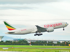 ETHIOPIAN AIRLINES B777 ET-AQL (Adrian.Kissane) Tags: 777 airline airliner boeing aircraft aeroplane jet plane aviation flying flight ireland grass departing takeoff sky outdoors 43814 etaql 1662018 b777 dublinairport dublin ethiopianal