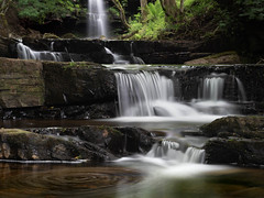 Gibsons Cave, Teesdale (G.A.D) Tags: landscape gibsonscave waterfall weardale