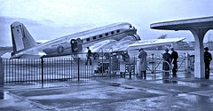 American Airlines Douglas DC-2 airplane [NC 14275] at Detroit airport - 1935 [Robert Platt] (over 18 MILLION views Thanks) Tags: aircraft airplane 1930s commercialaviation dc2 douglas americanairlines nc14275 detroitmi 1935