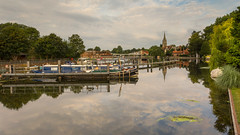 Marlow (THE NUTTY PHOTOGRAPHER) Tags: boats marlow marlowlock church riverthames reflections wetreflection trees