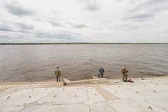 perm kama fishermen (John Eckhardt) Tags: perm russia sonya7 travel poetry urban kama river fishing