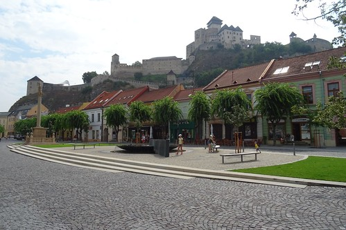 20190731 09 Trencin - Peace Square and Castle