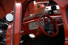 Red Hot Rod (Scott 97006) Tags: hotrod vehicle truck modified pristine beauty red customized