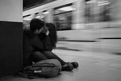 (Claudio Blanc) Tags: street streetphotography buenosaires bw bn blackandwhite blancoynegro people subte underground subway argentina