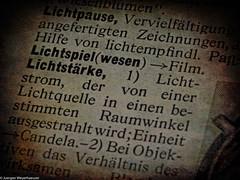 Macro Mondays - Printed Word (J.Weyerhäuser) Tags: hmm historic lexikon macromondays printedword book