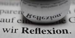 Reflexion (Elisabeth patchwork) Tags: text printedword spiegelung reflection reflexion