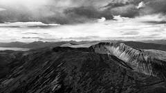 Mullach nan Coirean from Stob Bàn (Francis Mansell) Tags: mountain sky mamores mullachnancoirean stobbàn scotland scottishhighlands scan scanned scannedfromnegative negative filmgrain grainy monochrome blackwhite niksilverefexpro2 ardgour lochlinnhe cloud