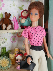 vintage clone doll (modcasey) Tags: colorful vintage mod barbie dolls clone doll