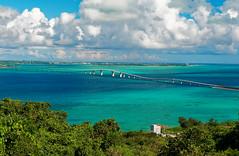 Ibaru Ohashi, Okinawa, Japan (Nana* <salala817>) Tags: irabuohashi irabuisland miyakoisland okinawa japan sea ocean bridge blue 伊良部大橋 伊良部島 宮古島 沖縄 橋 海 青
