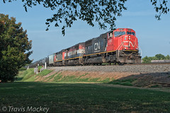 NS 65H at South Rock Hill with CN power