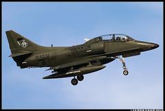 N141EM_DRAKEN (Scramble4_Imaging) Tags: douglas a4 ta4k skyhawk scooter adversary aggressor dact draken jet attack weapon aviation airplane aerospace aircraft