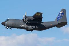 C-130H at Orange (lha-spotter.de) Tags: base aérienne 115 orangecaritat 458861pm lockheed c130h hercules french air force 4588 61pm c130