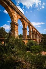 Acueducto de les Ferreres (PabloClavo) Tags: acueducto españa cataluña aqueduct spain rawtherapee inexplore catalonia tarragona