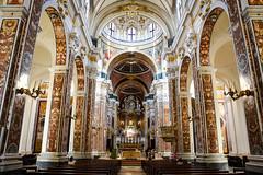 Basilica Cattedrale di Maria Santissima della Madia (Valdy71) Tags: monopoli puglia apulien italy italia church chiesa color travel marble art valdy nikon apulia
