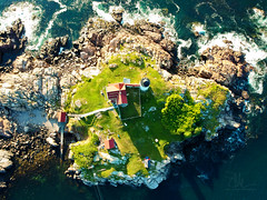 Over Nubble Lighthouse (Phiery Phoenix Photography) Tags: phieryphoenixphotography phiery phoenix phieryphoenix photography dji spark djispark uas unmanned aerial system drone drones aircraft remote pilot york maine me nubble light house lighthouse island summer summertime water fish fishing aviation suas altitude sky colors