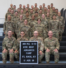 Platoon Photos | 10th Regiment, Advanced Camp (armyrotcpao) Tags: 10 10ac regiment 10th 10thregiment advance advanced camp advancedcamp madison thompson madisonthompson platoon platoonphotos photos cst cst2019 2019 ac10rgt delta charlie bravo alpha deltacompany charliecompany bravocompany alphacompany us usa usarmy usarmyrotc usarmyrotccst usarmycadetcommand university cadet cadetsummertraining summer training hooah fortknox fortknoxky kentucky rotc smile