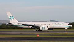 CXB 772 P4-XTL 2 (Spenair777) Tags: comlux aruba crystal cruises boeing 777 flywinglets manchester man 772