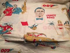 James Bond Pillow Case (toyfun4u) Tags: vintage james bond 007