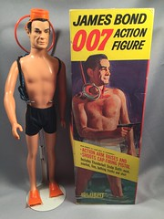 Gilbert James Bond w/Original Box (toyfun4u) Tags: vintage james bond 007
