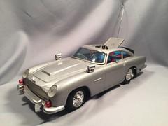 Gilbert BO Aston Martin 1 (toyfun4u) Tags: vintage james bond 007