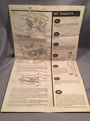 Strombecker Aston Martin Slot Car Instructions 2 (toyfun4u) Tags: vintage james bond 007