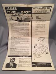 Strombecker Aston Martin Slot Car Instructions 1 (toyfun4u) Tags: vintage james bond 007