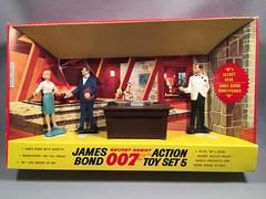 Gilbert James Bond 007 Action Set 5 (toyfun4u) Tags: vintage james bond 007
