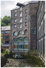 IMG_7911 (Cauther Photography) Tags: newcastle england uk canal mill history building architecture waste rubbish pollution