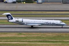 Alaska Airlines (SkyWest Airlines) - Bombardier (Canadair) CRJ-701ER (CL-600-2C10) - N218AG - Portland International Airport (PDX) - June 3, 2015 5 414 RT CRP (TVL1970) Tags: nikon nikond90 d90 nikongp1 gp1 geotagged nikkor70300mmvr 70300mmvr aviation airplane aircraft airlines airliners portlandinternationalairport portlandinternational portlandairport portland pdx kpdx n218ag alaskaairlines horizonair horizon alaskaairgroup n618qx skywestairlines skywest bombardieraerospace bombardier bombardiercrj700 bombardiercrj701 bombardiercrj701er bombardiercrj canadair challenger cl600 cl6002c10 crj crj700 crj701 crj701er regionaljet generalelectric ge cf34 cf348c5 cf348c5b1