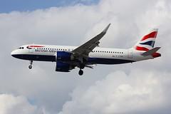 A320 G-TTNG London Heathrow 02.08.19 (jonf45 - 5 million views -Thank you) Tags: airliner civil aircraft jet plane flight aviation london heathrow international airport lhr egll a320 british airways airbus a320251n gttng neo