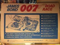 Gilbert James Bond 007 Road Race Box Panel (toyfun4u) Tags: vintage james bond 007