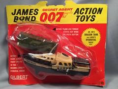Gilbert James Bond 007 Dr No's Dragon Tank & Largo's Yacht (toyfun4u) Tags: vintage james bond 007