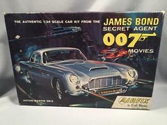 Airfix Aston Martin Model (toyfun4u) Tags: vintage james bond 007