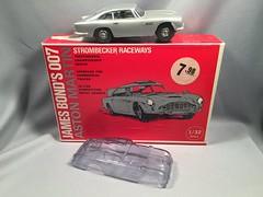 Strombecker Aston Martin Slot Car (toyfun4u) Tags: vintage james bond 007