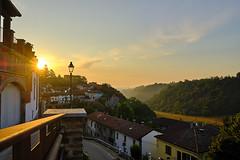 Sunrise in Rocca d'Arazzo (stefanobosia) Tags: sunrise sun alba sole landscape panorama sky cielo mattino morning fuji xt20 fujifilm paesaggio landscapes piemonte italy italia