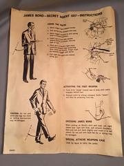 Gilbert James Bond 007 Instructions (toyfun4u) Tags: vintage james bond 007
