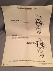 Gilbert Odd Job Instructions (toyfun4u) Tags: vintage james bond 007