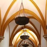 Lámparas de la sala de las bóvedas