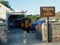 150248 Liskeard (10) (Marky7890) Tags: gwr 150248 class150 sprinter 2l92 liskeard railway cornwall cornishmainline train