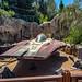 A-wing interceptor  Star Wars Galaxy's Edge Disneyland Resort in Anaheim, California