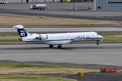Alaska Airlines (SkyWest Airlines) - Bombardier (Canadair) CRJ-701ER (CL-600-2C10) - N218AG - Portland International Airport (PDX) - June 3, 2015 5 416 RT CRP (TVL1970) Tags: nikon nikond90 d90 nikongp1 gp1 geotagged nikkor70300mmvr 70300mmvr aviation airplane aircraft airlines airliners portlandinternationalairport portlandinternational portlandairport portland pdx kpdx n218ag alaskaairlines horizonair horizon alaskaairgroup n618qx skywestairlines skywest bombardieraerospace bombardier bombardiercrj700 bombardiercrj701 bombardiercrj701er bombardiercrj canadair challenger cl600 cl6002c10 crj crj700 crj701 crj701er regionaljet generalelectric ge cf34 cf348c5 cf348c5b1