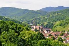 Andlau (67) dans son écrin de verdure (Nathery Reflets) Tags: village paysage verdure grandest alsace basrhin andlau