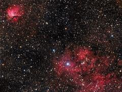 Sh2-112 and Sh2-115 (AllAboutRefractors) Tags: refractor astrophotography astronomy astrophysics nebulae nebula space deepsky qsi starlightxpress star stars nightsky