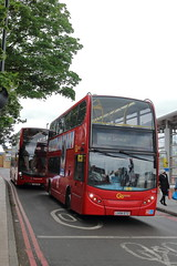 LX56 ETZ + YX68 UMY (ANDY'S UK TRANSPORT PAGE) Tags: lewisham buses goaheadlondon londoncentral stagecoachlondon