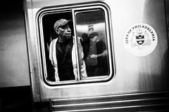 Philadelphia Subway (Michael Penn Photography) Tags: second philadelphia philly subway septa noir dark contrast street photography bw black white gritt